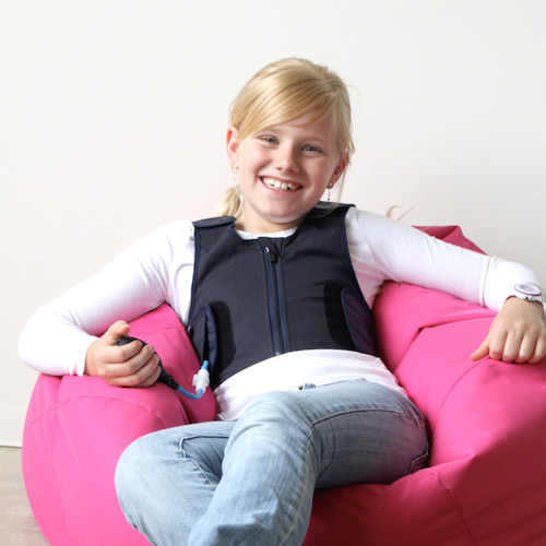 Squease Pressure Vest for Kids and Children size XS XXS